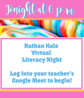 Literacy Night TONIGHT